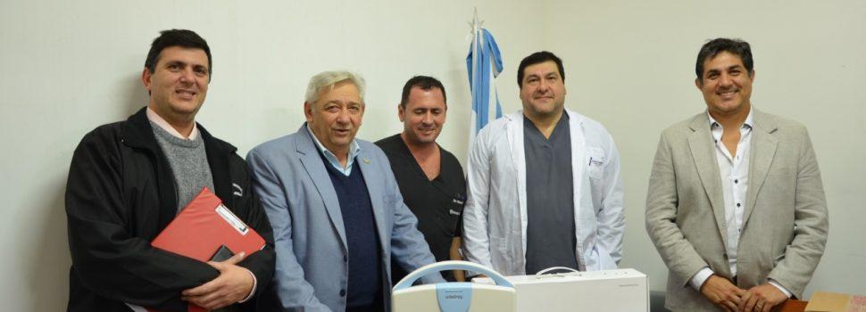 Hospital Regional recibe importante  equipamiento de última tecnología