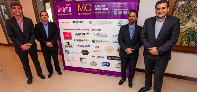 Inició importante misión comercial para  hoteles y restós en Termas de Río Hondo