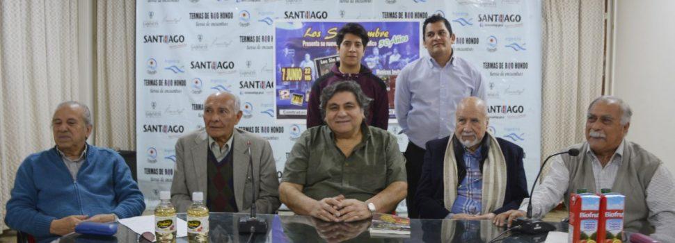 """El conjunto """"Los Sin Nombre"""" presentan  """"Decime Chacarera"""" en el Teatro 25 de Mayo"""