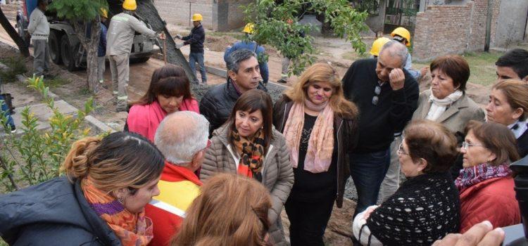 Avanza obra de pavimentación en el barrio Sargento Cabral