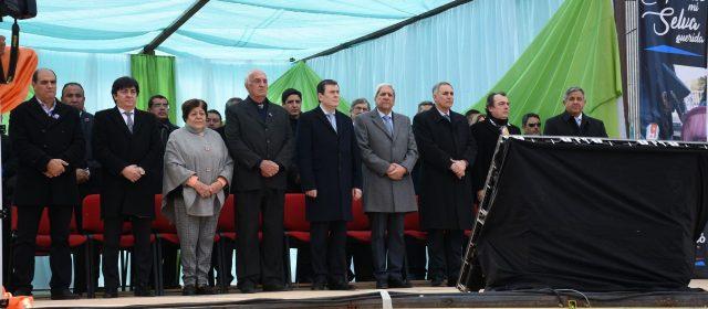Gobernador participó del acto por el  127 aniversario de la ciudad de Selva