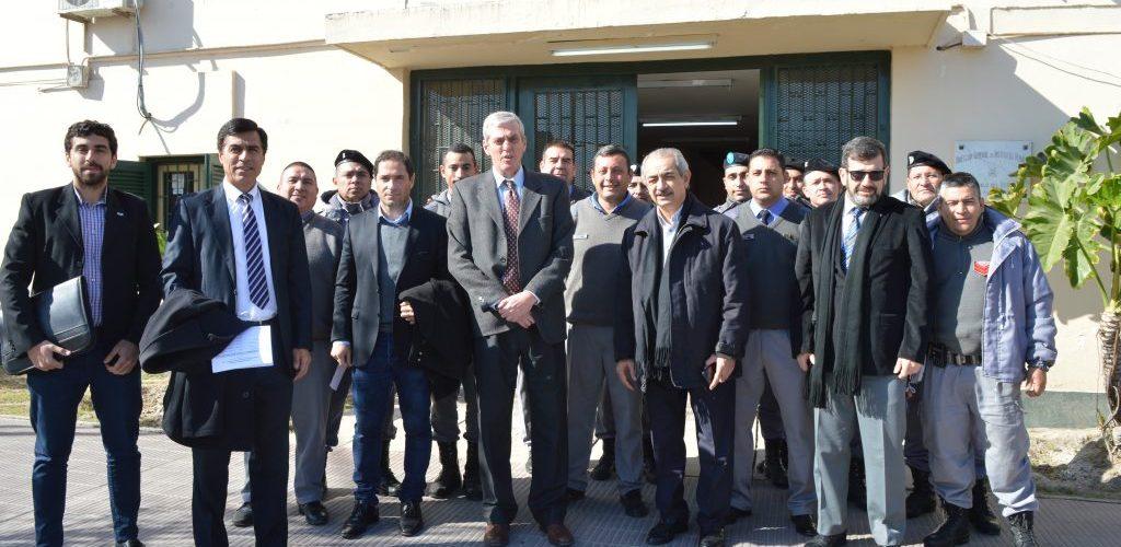El Fiscal General de la provincia realizó la primera visita anual a cárceles