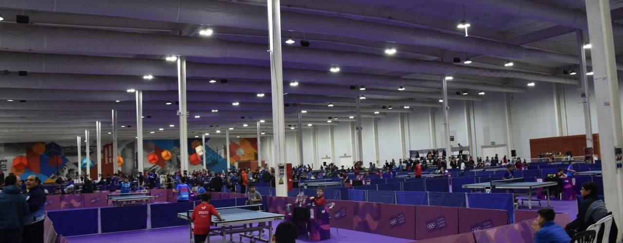 El Campeonato Argentino de tenis de  mesa se juega en el Nodo Tecnológico