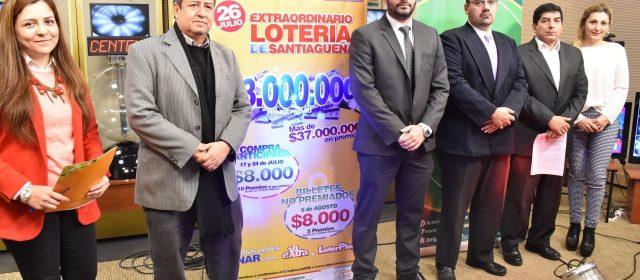 Caja Social anunció sorteo extraordinario  de Lotería Santiagueña para el mes de Julio