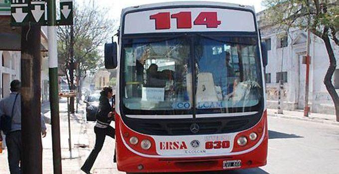 La línea 114 cambia su recorrido temporal por obras