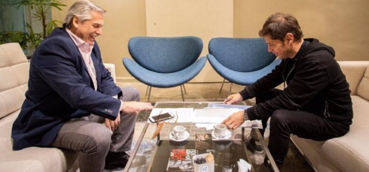 Alberto Fernández, Cristina Kirchner y Kicillof se reunieron en medio de la corrida del dólar