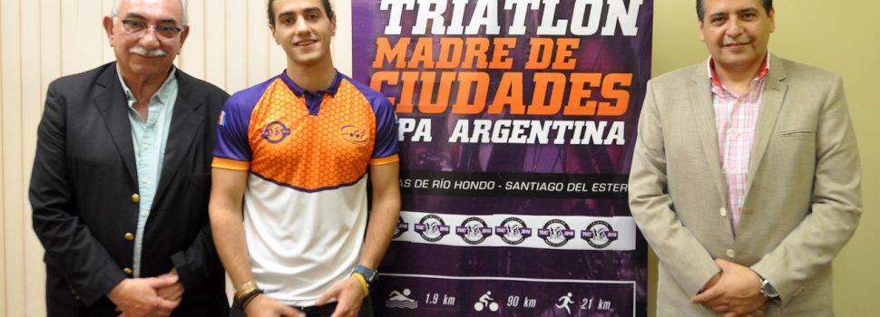El Half Triatlón Madre de Ciudades Copa  Argentina se correrá este sábado en Termas
