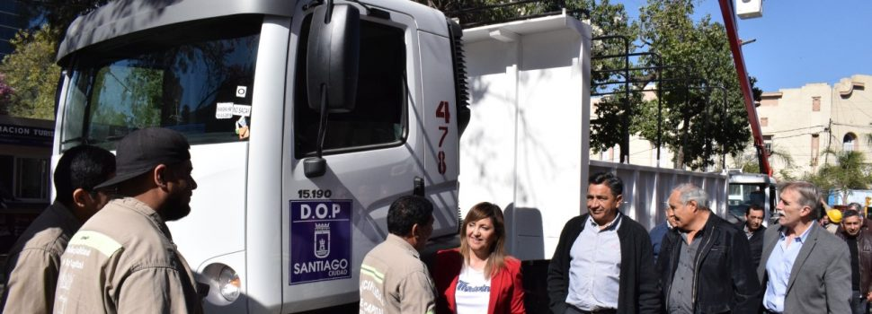 Fuentes remarcó que pese a la situación económica el municipio incorporó nuevos camiones
