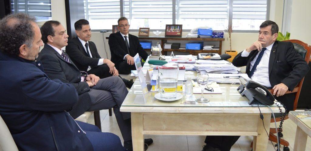 Funcionarios judiciales de San Juan visitaron el Ministerio Público Fiscal
