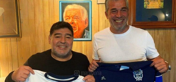 Confirmado: Diego Maradona será el nuevo entrenador de Gimnasia