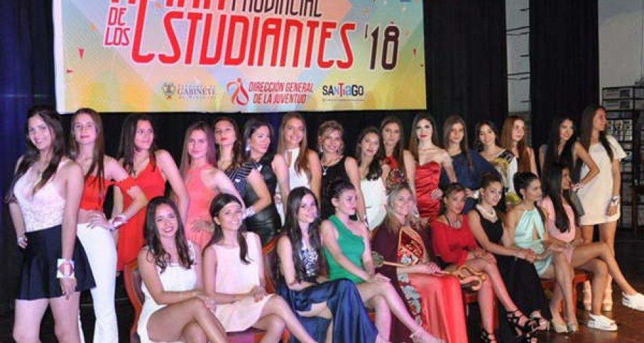 Pre y elección de la Reina Provincial  de los Estudiantes 2019