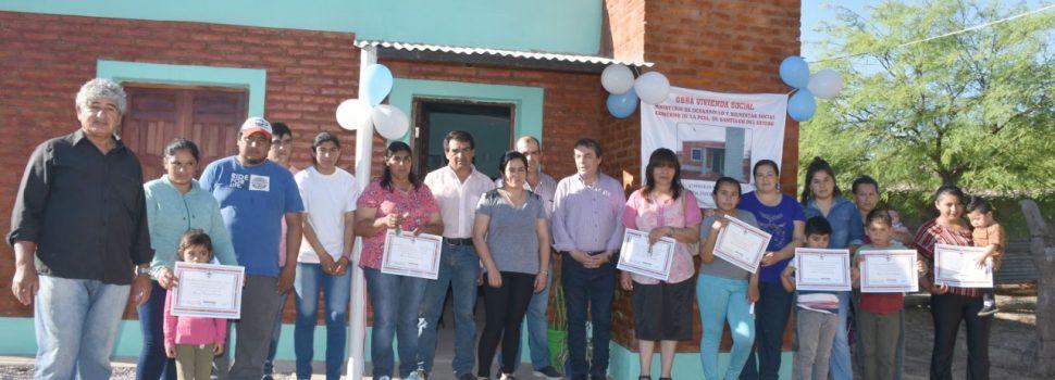 Habilitan viviendas sociales en Cañada Escobar