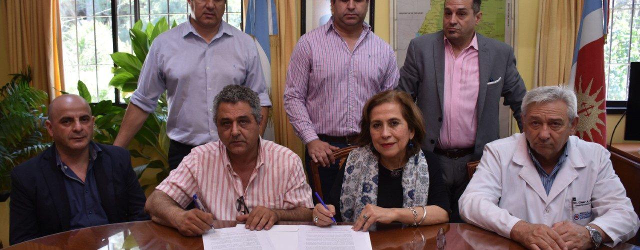 Ministerio de Salud y Municipio de Campo  Gallo firmaron convenio de colaboración
