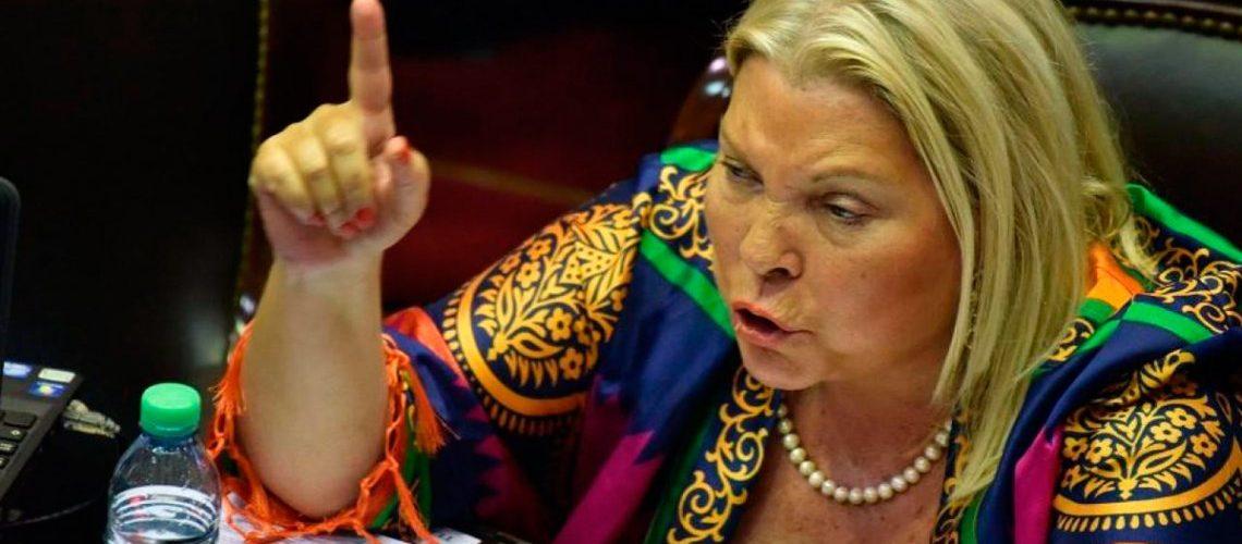 Carrió renunció a su banca como Diputada nacional a partir del próximo 1° de marzo