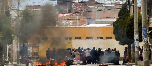 Golpe de Estado: la Policía boliviana dice estar «rebasada» y pide ayuda a las Fuerzas Armadas