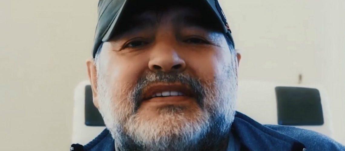 Escandaloso video de Diego Maradona en respuesta a Gianinna: «Voy a donar todo»