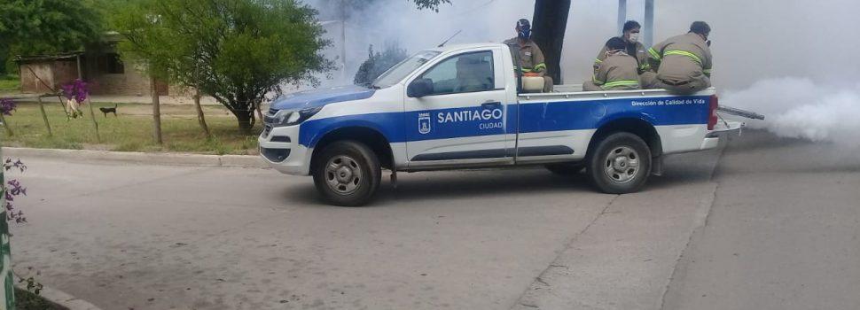 Esta semana continúa la fumigación en los barrios del sudoeste