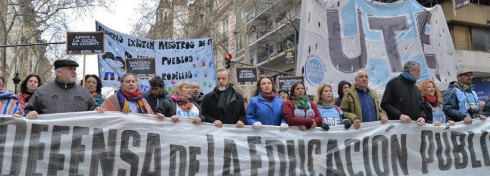 Los docentes anunciaron un paro para este martes en la Ciudad de Buenos Aires