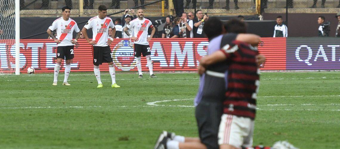 Con una ráfaga de Gabigol, Flamengo se lo da vuelta a River y es campeón de la Copa Libertadores