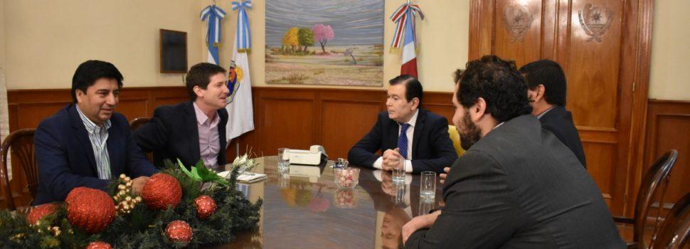 El director de CEPAL realizó visita  protocolar al Gobernador Zamora