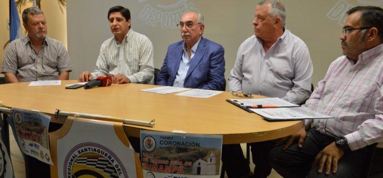 """Cierre de la temporada con el """"Rally  del Camino Real de Sumampa"""""""