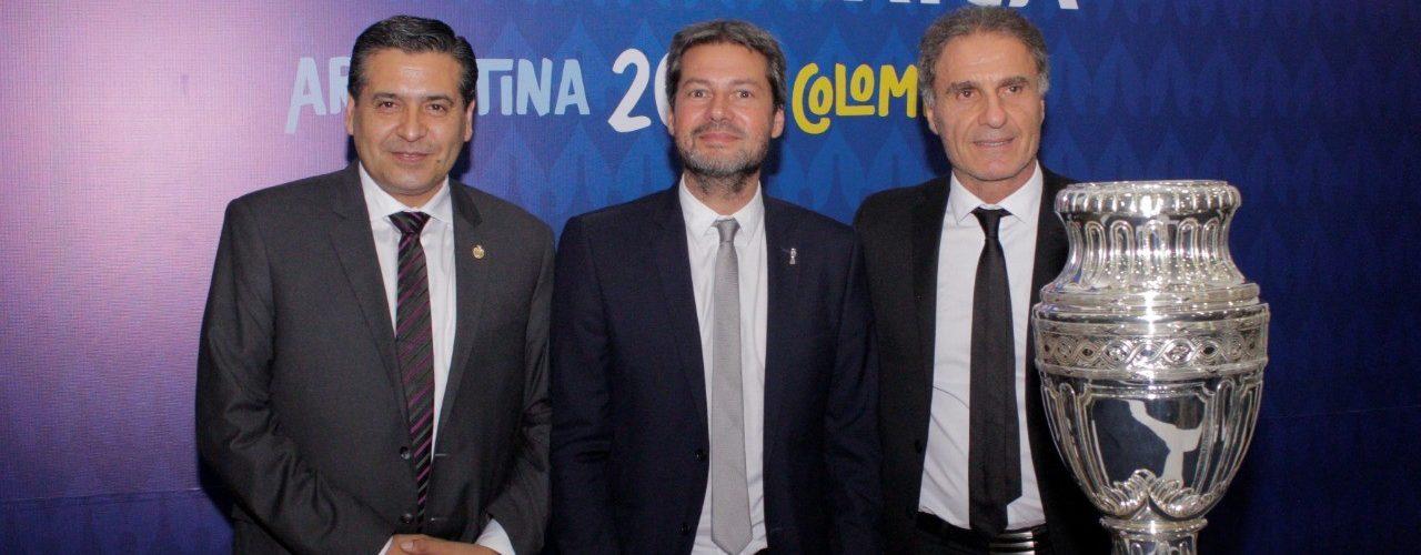 Colombia: destacan a Santiago del Estero  en la presentación de la Copa América