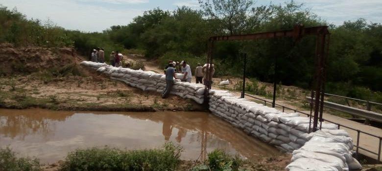 Ejecutan obras para evitar inundaciones