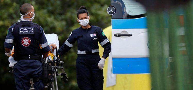 Brasil: ya suman 46 muertos por coronavirus