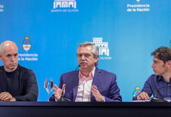 """Coronavirus en Argentina: """"Lo peor está por llegar"""", la cruda certeza que une a Alberto Fernández, Horacio Rodríguez Larreta y Axel Kicillof"""