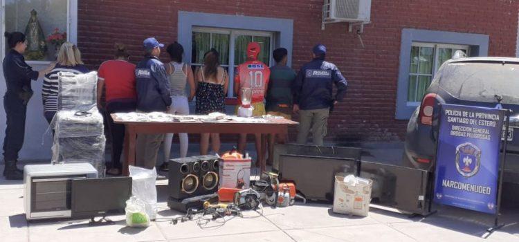 Se realizó un importante operativo contra el narcotráfico en Monte Quemado