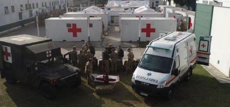 Coronavirus: Campo de Mayo prepara el hospital reubicable