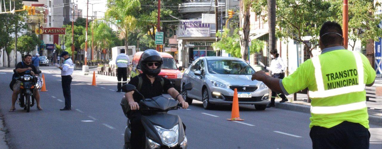 La Dirección de Tránsito municipal continúa con los controles en la vía pública