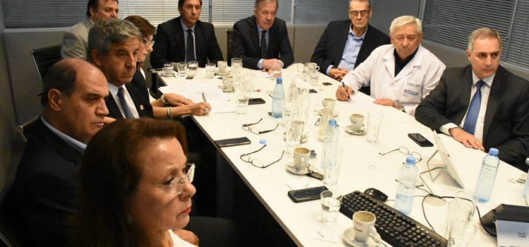 Miembros del gabinete provincial participaron de  videoconferencia con el presidente de la nación