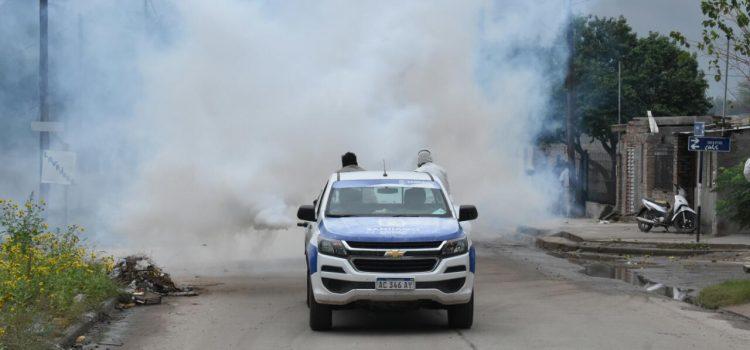 El municipio concretó fumigaciones en los barrios Belén, General Paz y Villa del Carmen