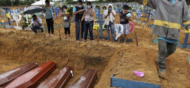 Coronavirus en Brasil: 1.188 muertes en un día y más de 20 mil en total