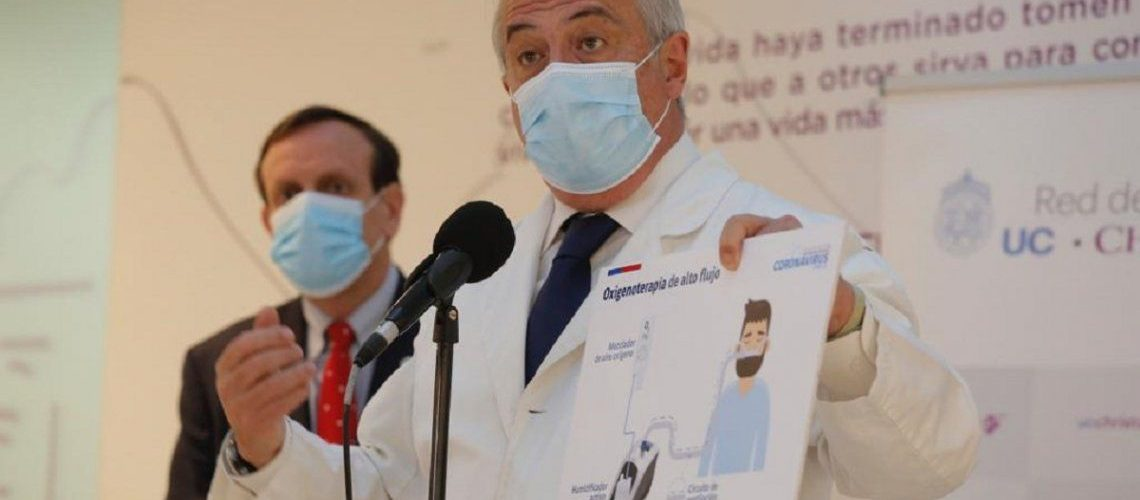 Chile supera los 800 muertos por coronavirus