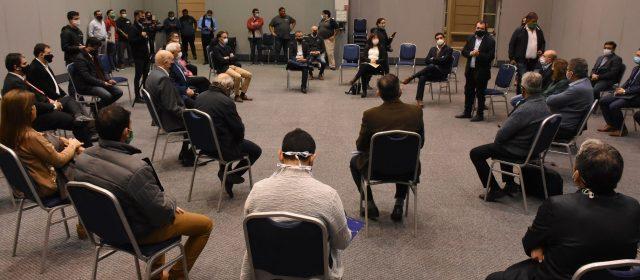 Reunión para coordinar acciones  en residencias para adultos mayores