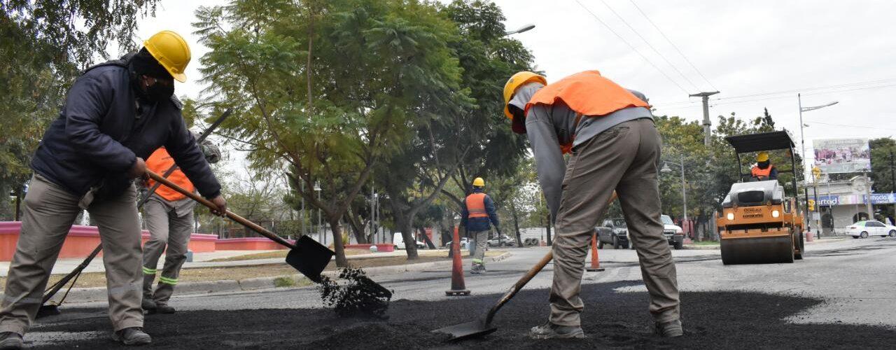 La Capital realiza el mantenimiento de la calle Libertad