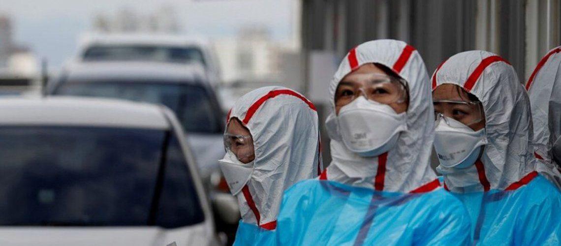 Corea del Sur sufre una cepa de coronavirus 6 veces peor que la original
