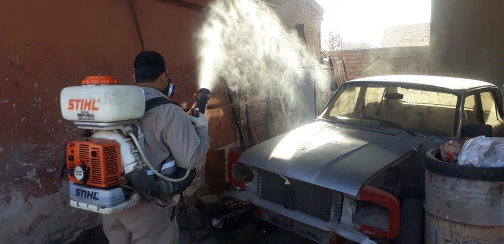 La Capital reforzó la fumigación en el barrio Sarmiento