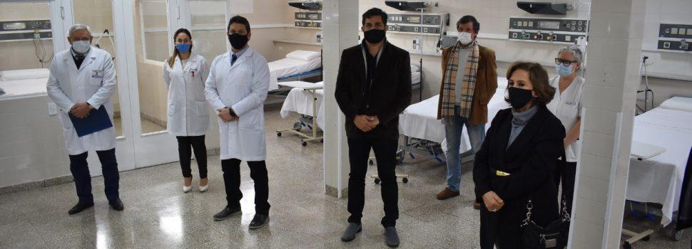 La ministra de Salud se refirió a la ampliación  de la terapia intensiva del Hospital Regional