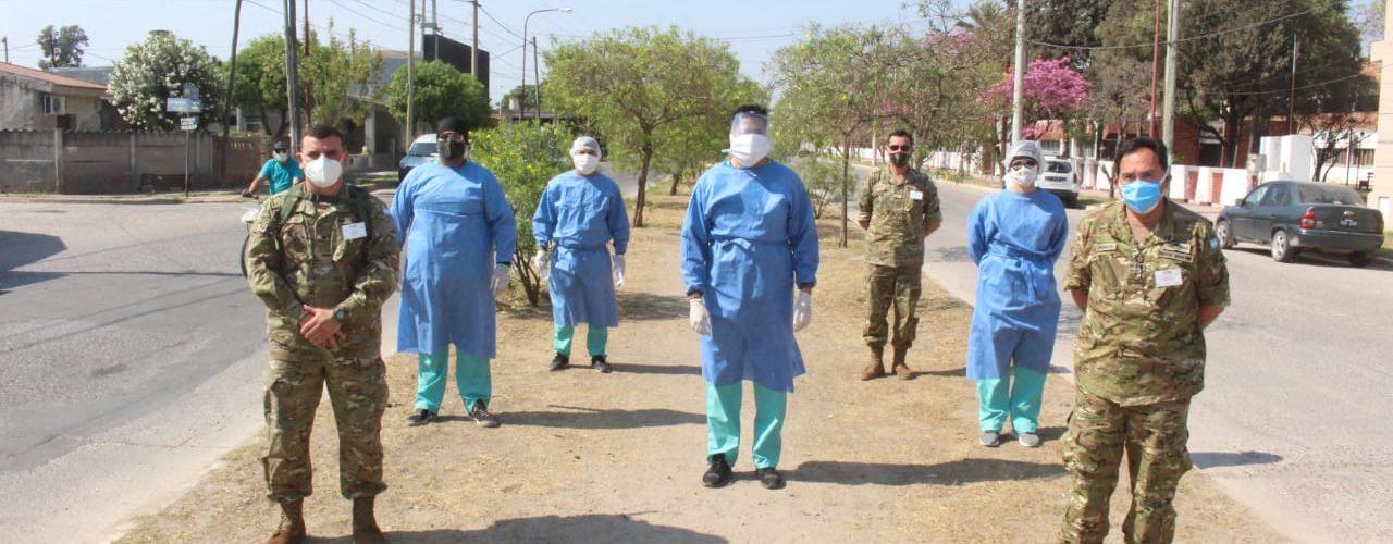 La Municipalidad y el Ministerio de Salud de la provincia trabajan con su equipo técnico itinerante