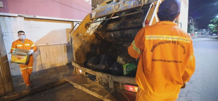 La Capital informó que la recolección de residuos será normal durante el feriado
