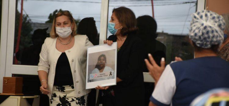 El CePSI despidió y homenajeó a su  enfermera fallecida por COVID-19