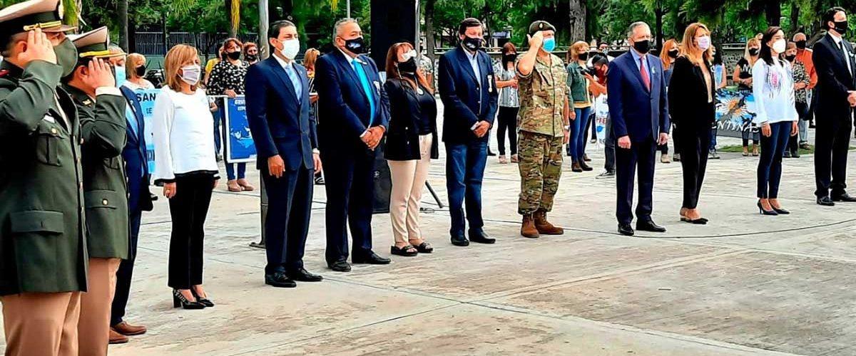 Homenaje en el Día del Veterano de  Guerra y de los Caídos en Malvinas