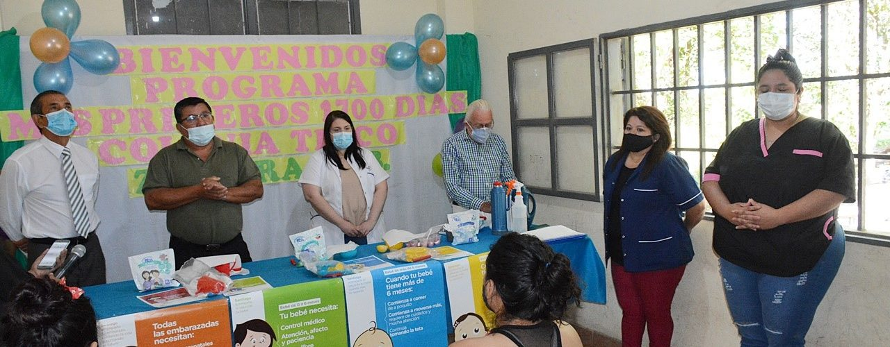 Programa provincial «Mis primeros 1.700  días» en Colonia Tinco, Dpto. Río Hondo