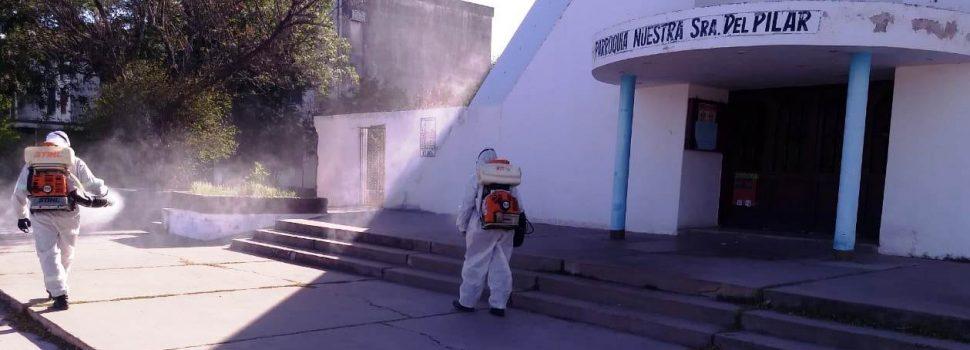La Municipalidad avanza con su programa de fumigaciones para los barrios