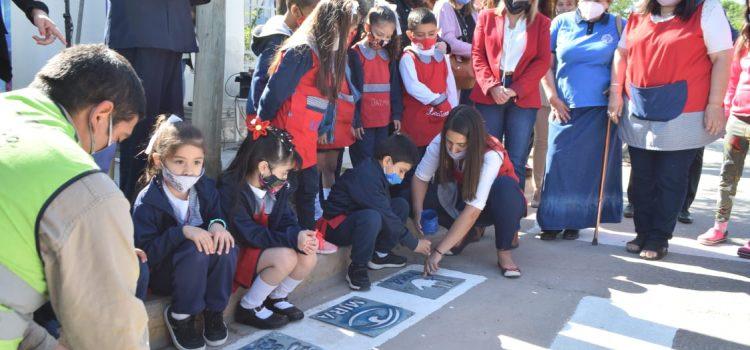 La intendente Fuentes destacó la campaña de educación vial inclusiva en los jardines de infantes