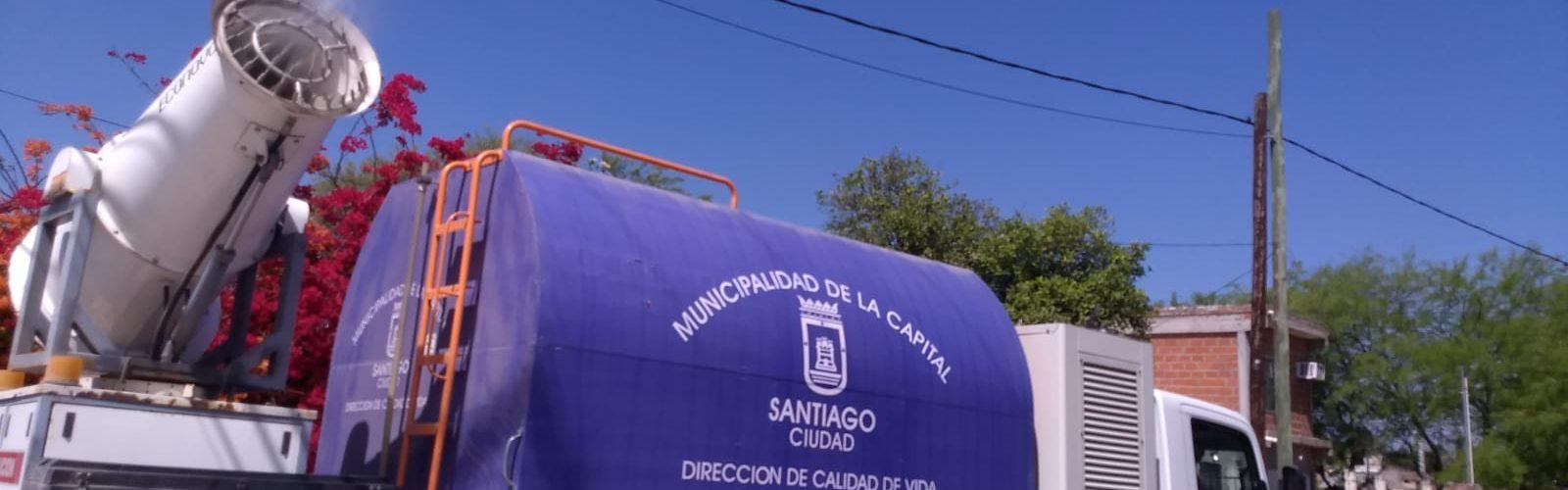 El programa de fumigaciones de la Municipalidad impactará con su trabajo en varios barrios