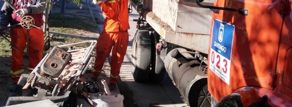 La Municipalidad y el Ministerio de Salud realizarán descacharreo en el barrio Libertad